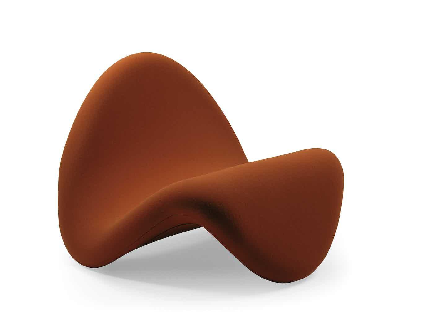 Orange Artifort Tongue Chair