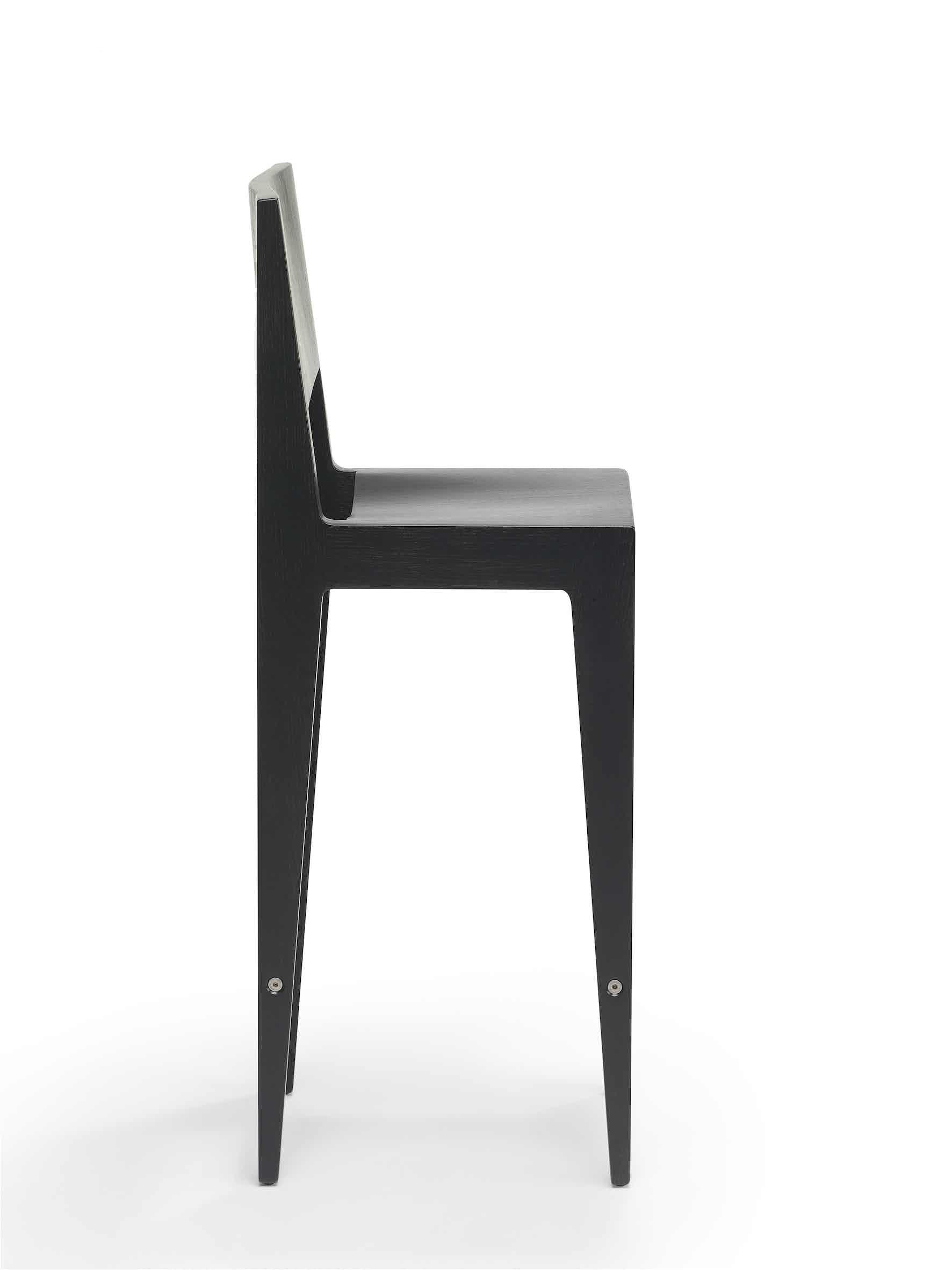 Spectrum Furniture Black Side Toos Stool Haute Living