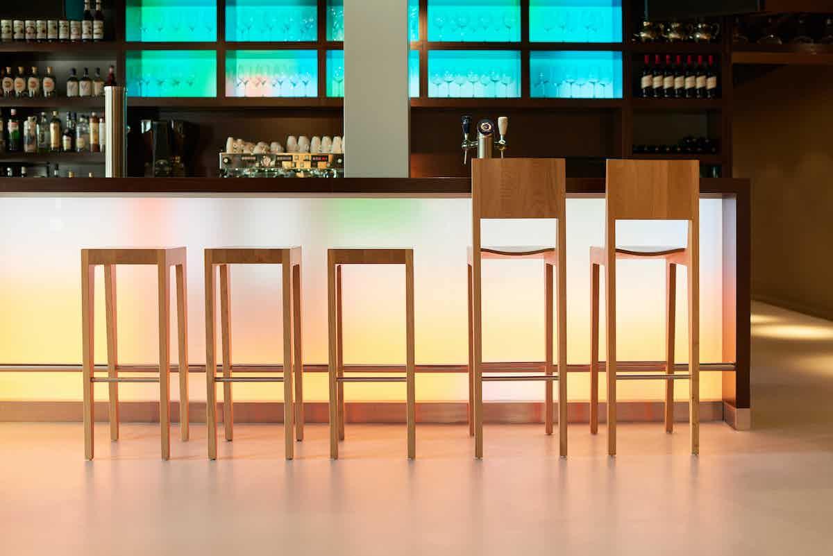 Spectrum Furniture Natural Oak Toos Stool Institu Haute Living