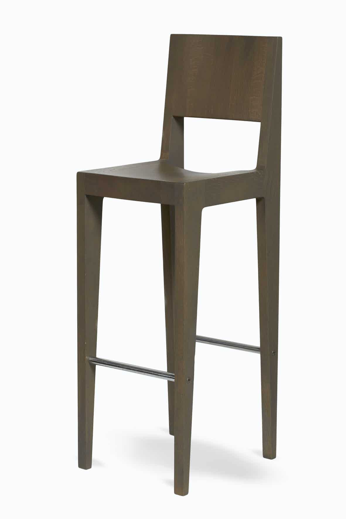 Spectrum Furniture Oak Clay Front Toos Stool Haute Living