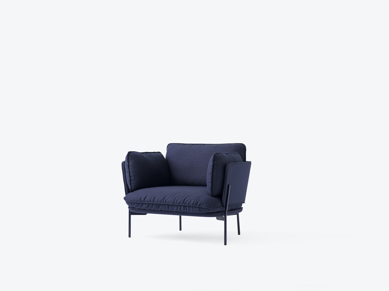 Cloud One Seater Ln1 Black Blue 01