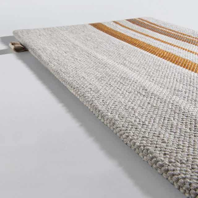 Limited Edition Rugs Tribu Glam Rug Goldprint Haute Living