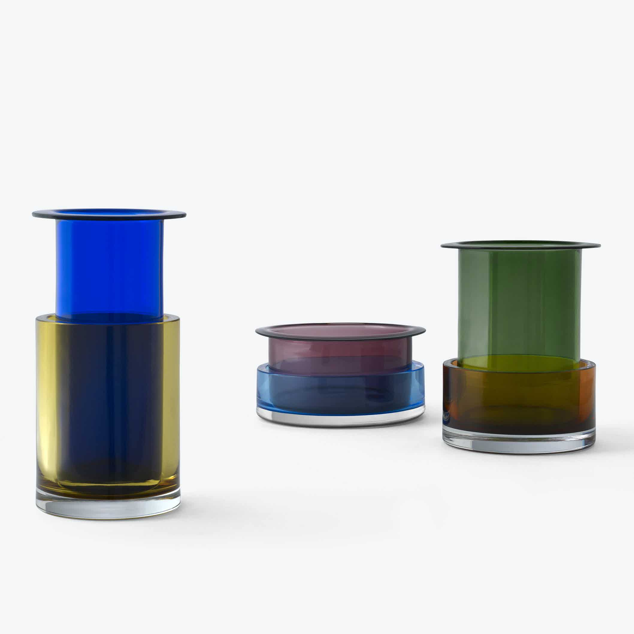Andtradition Tricolore Vase Group Haute Living