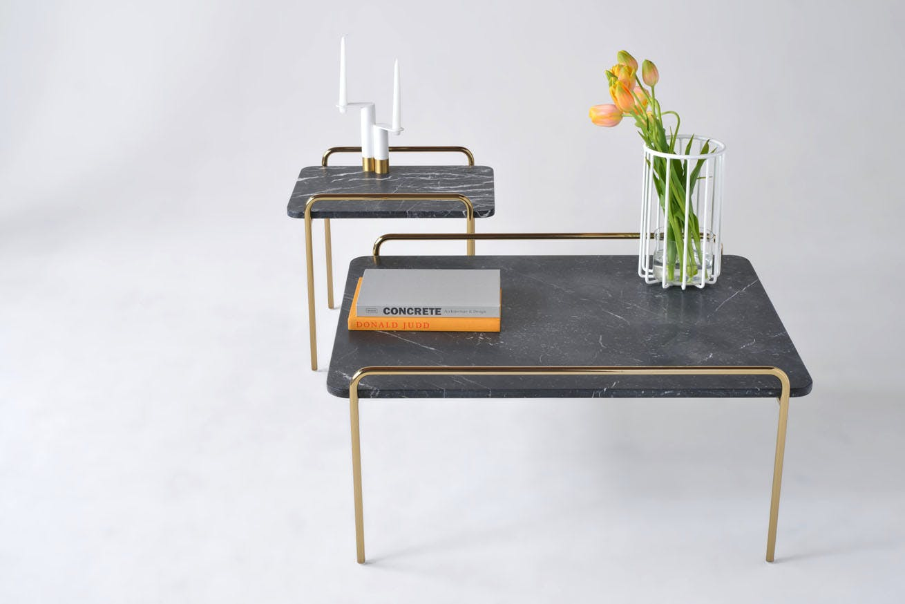 Phase Design Trolley Tables 1
