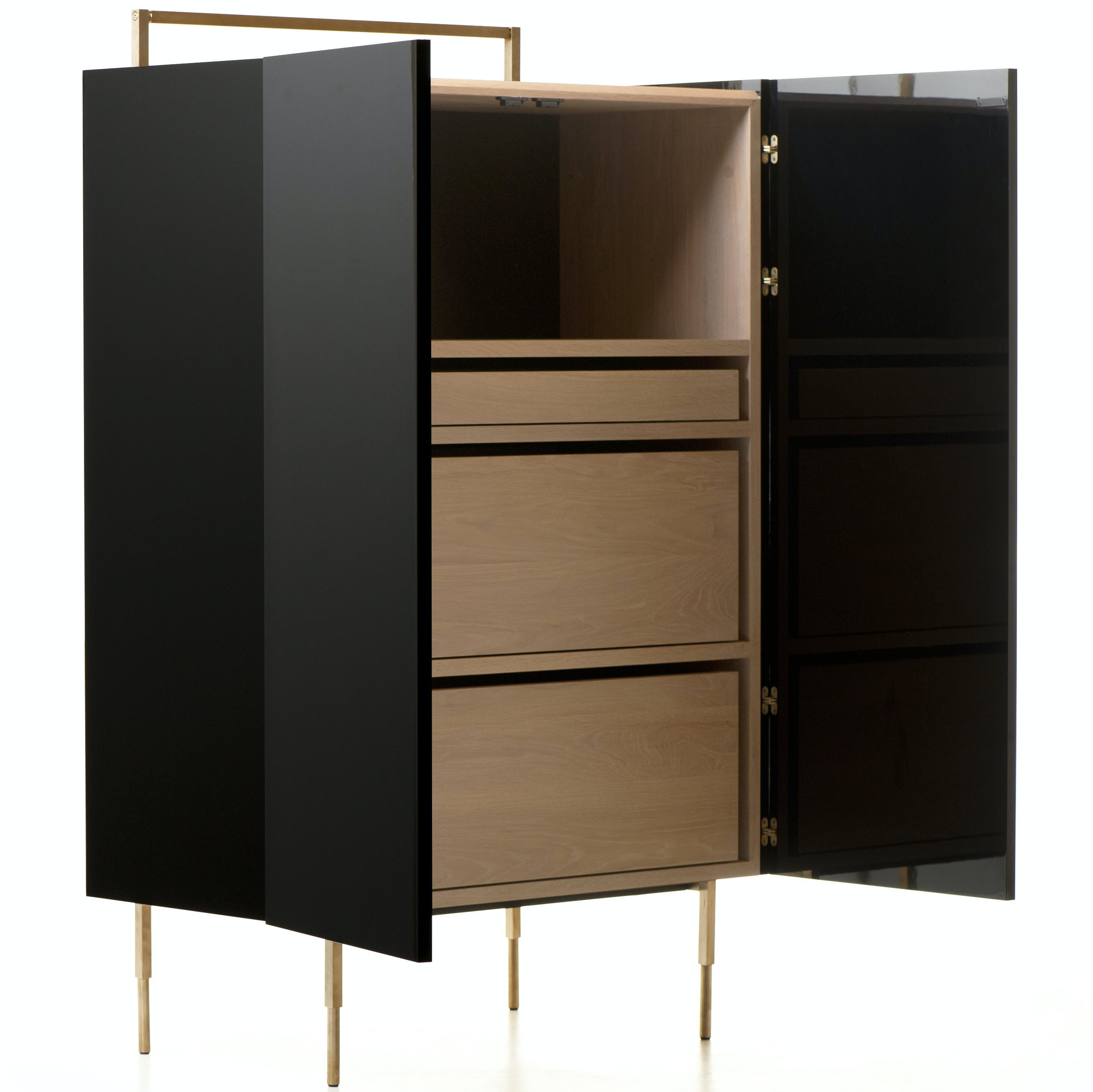 Trunk Tall Cabinet 2