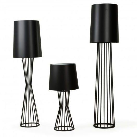 De La Espada Autoban Tulip Lamps Black Haute Living