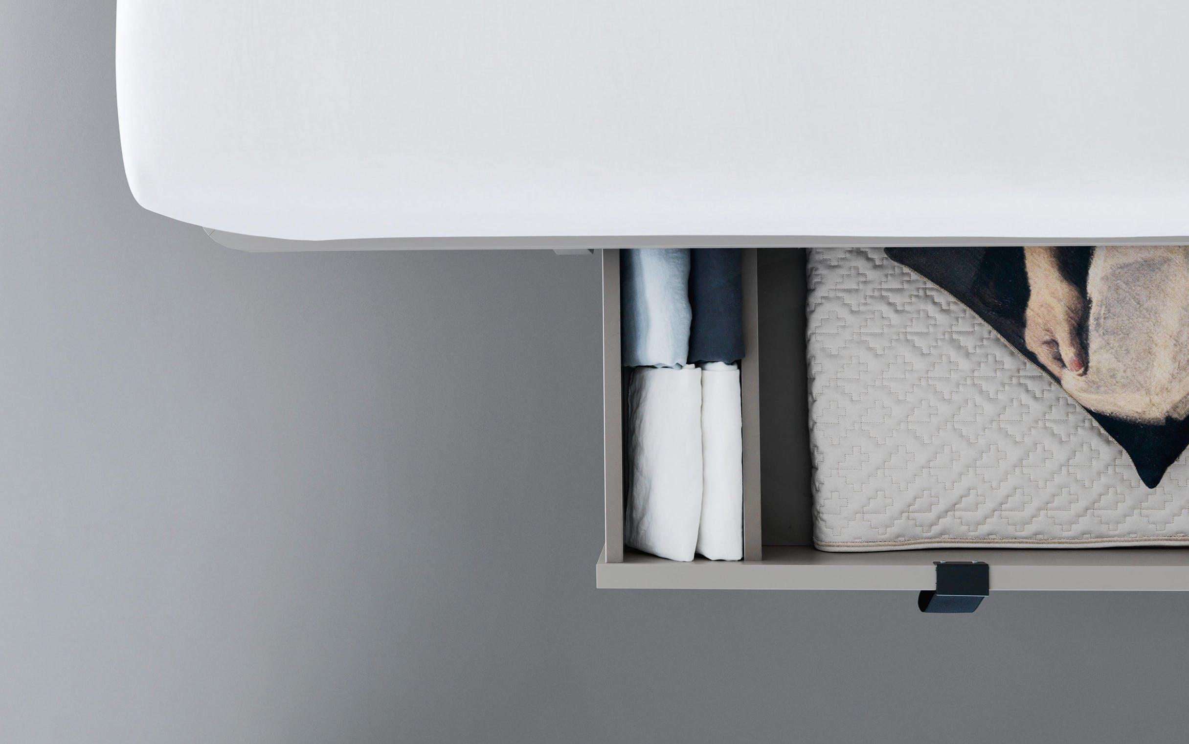 Caccaro Tune Bed Drawer Detail Haute Living