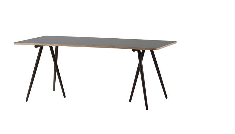 Turn Table Frame 180 X 90 Cm Brown 5035 Ab 1