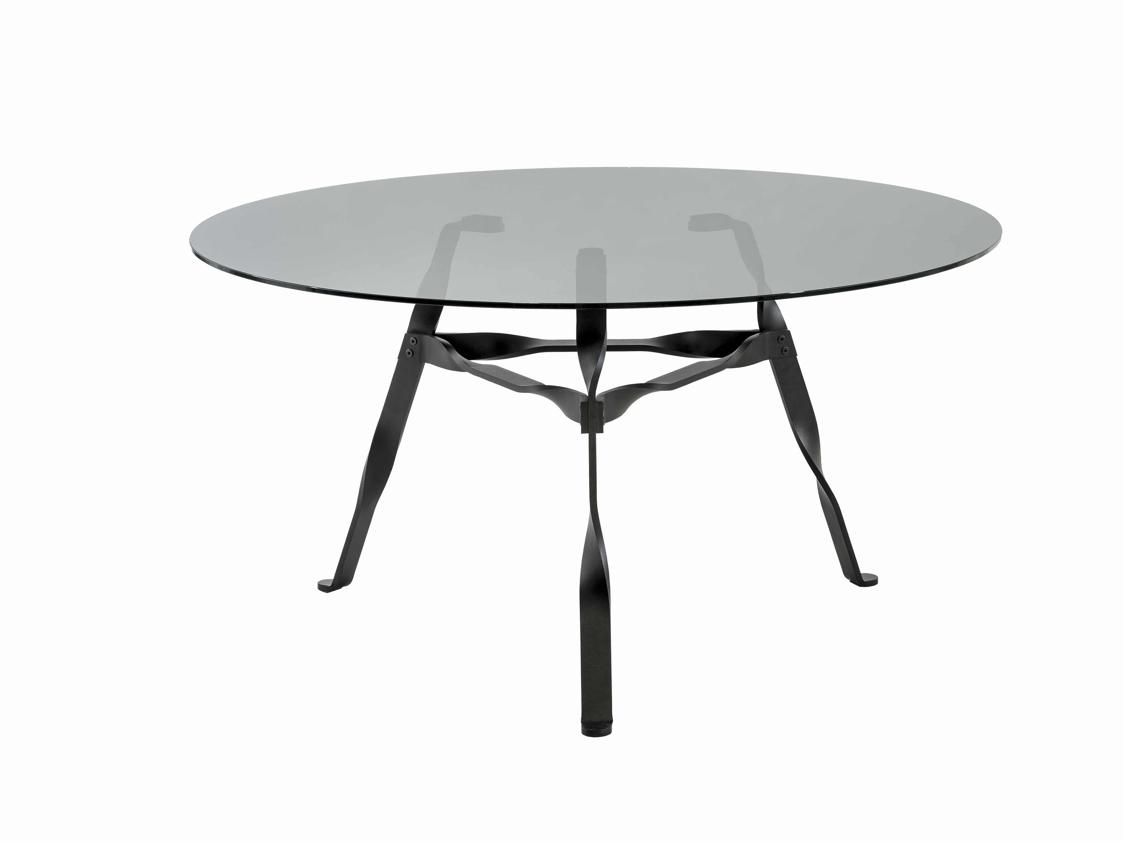 Functionals Twist Glass Dining Table Haute Living