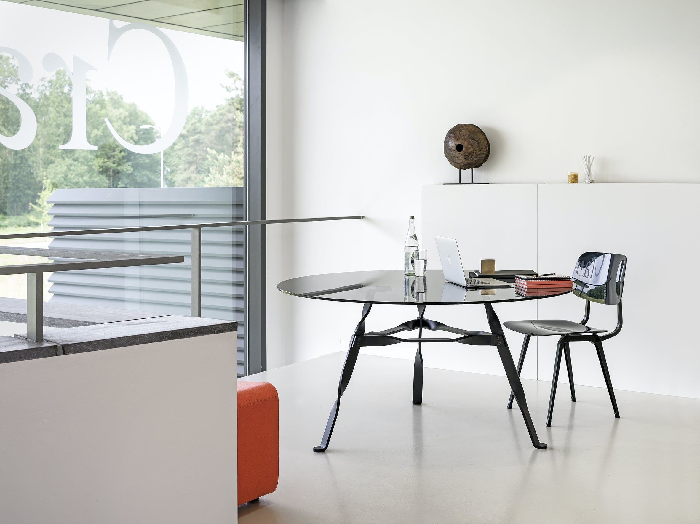 Functionals Twist Glass Dining Table Insitu Haute Living