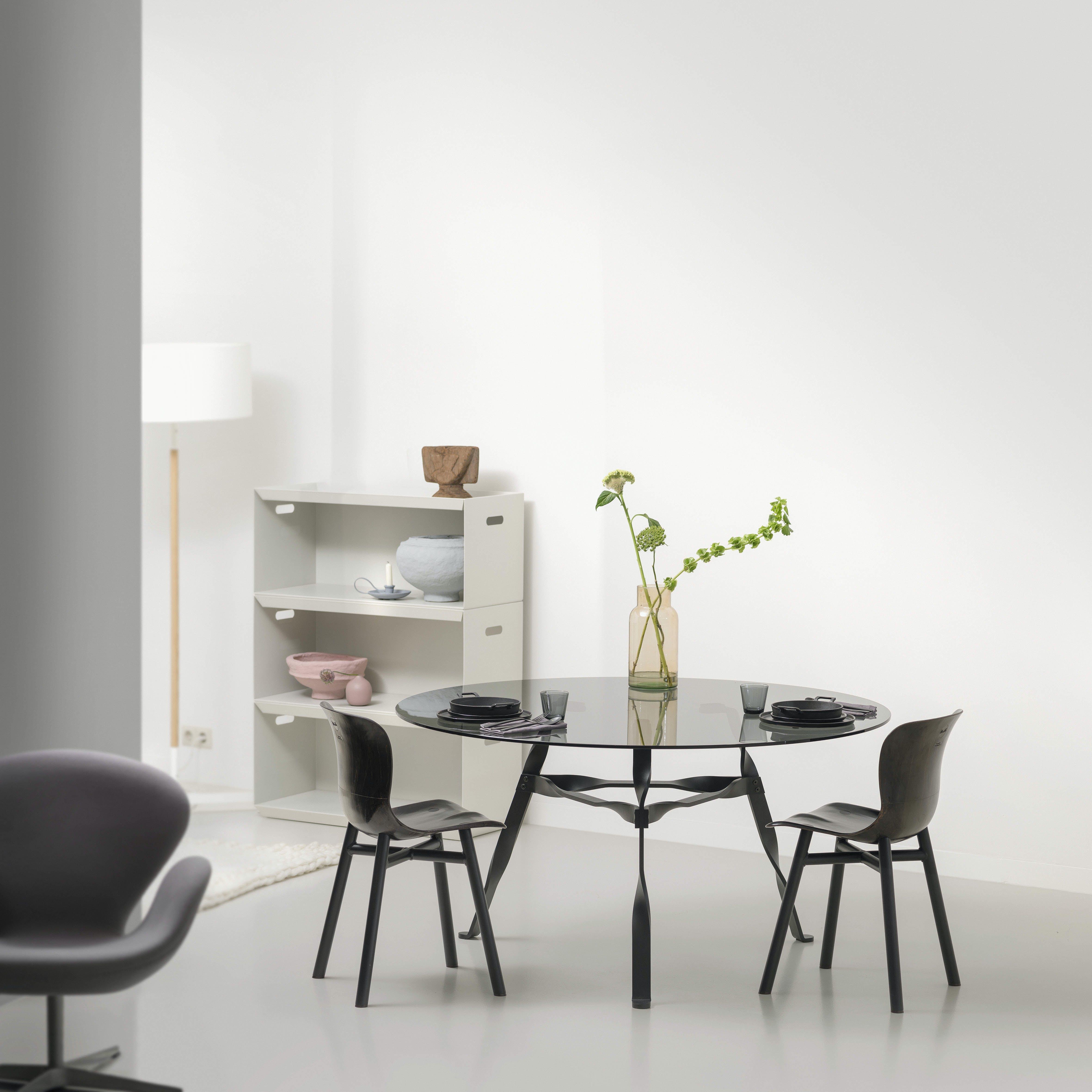 Functionals Twist Glass Table Insitu Haute Living