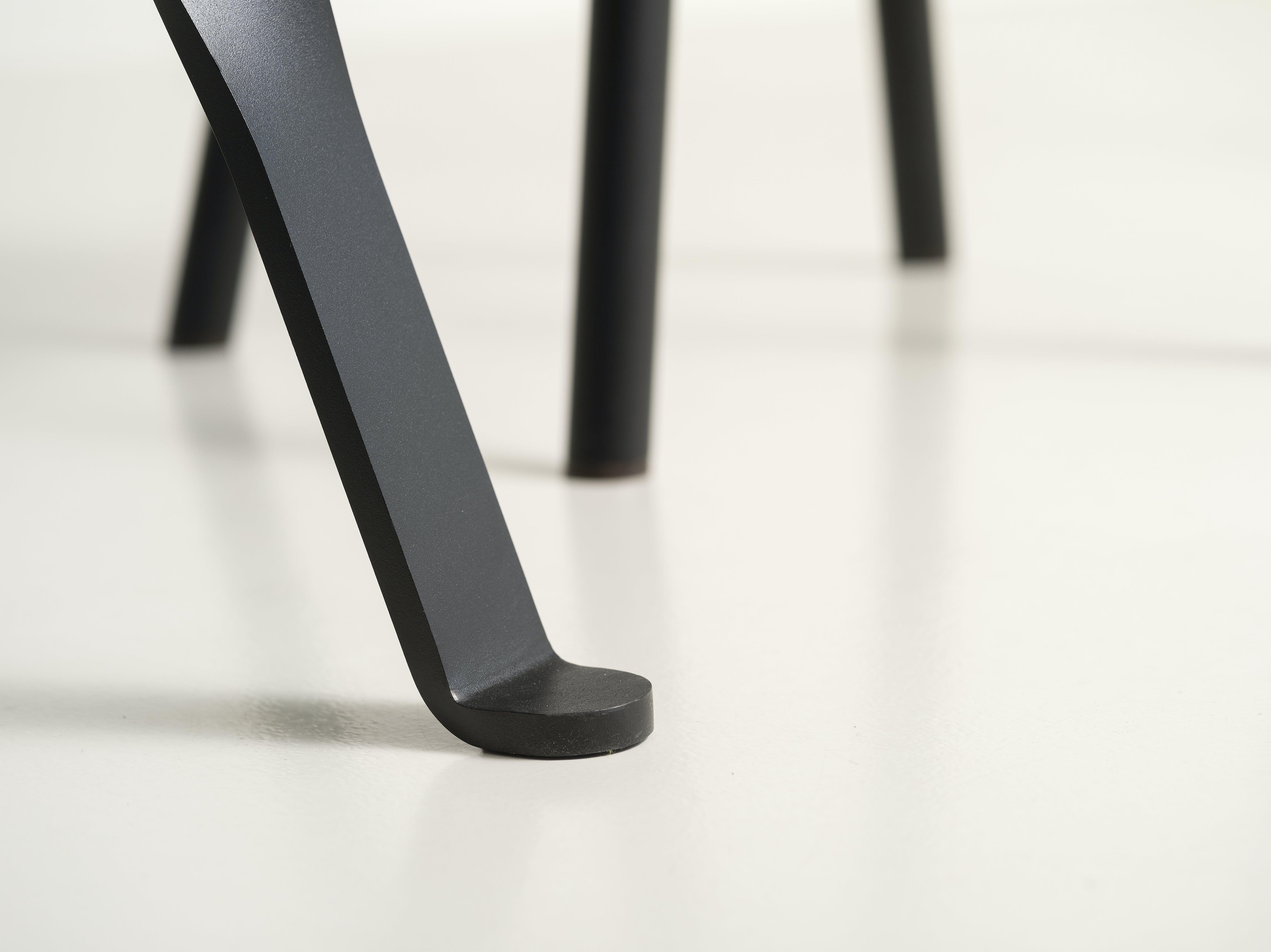 Functionals Twist Glass Table Leg Detail Haute Living