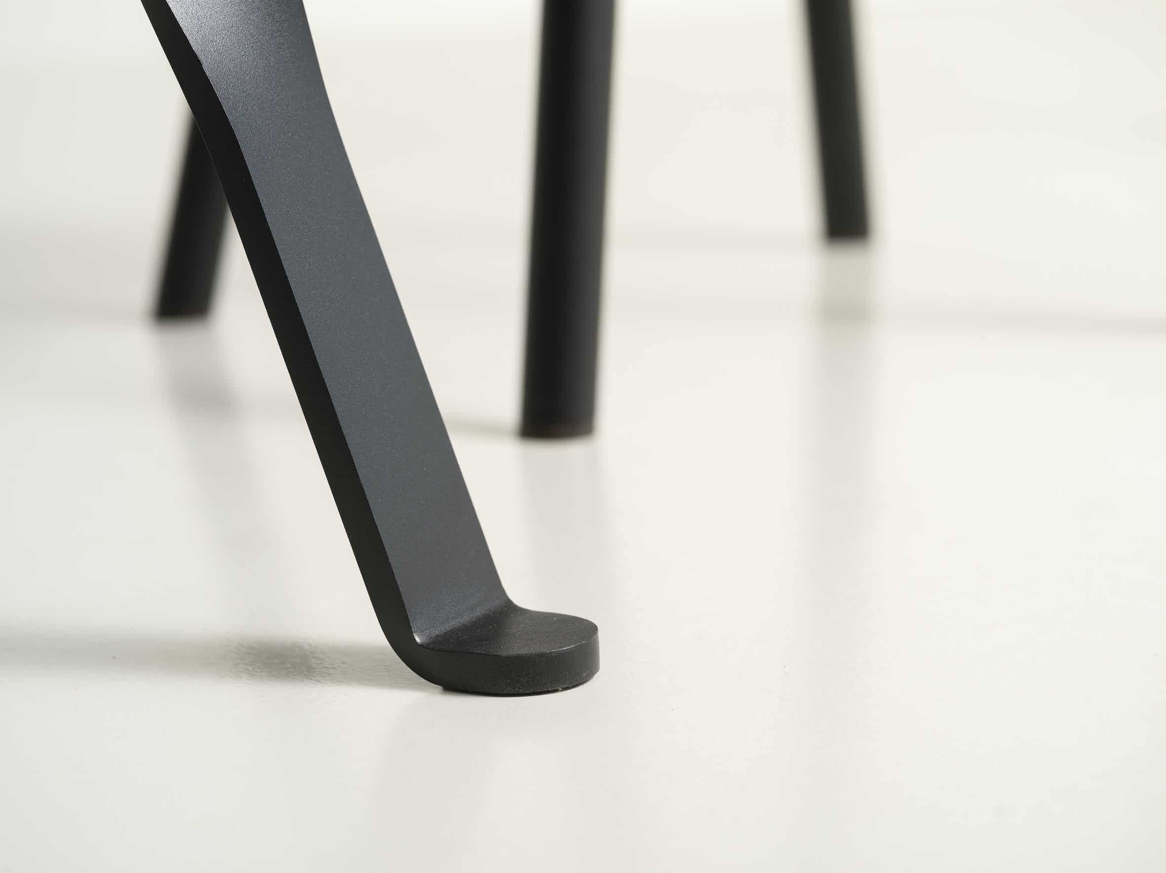 Functionals Twist Glass Table Leg Detail Haute Living