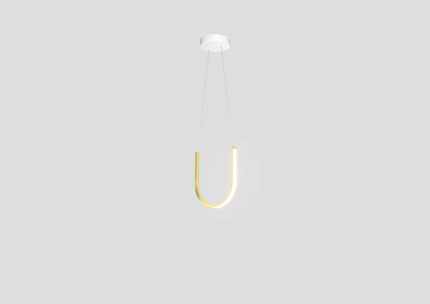 Arpel lighting u1 pendant brass hanging haute living