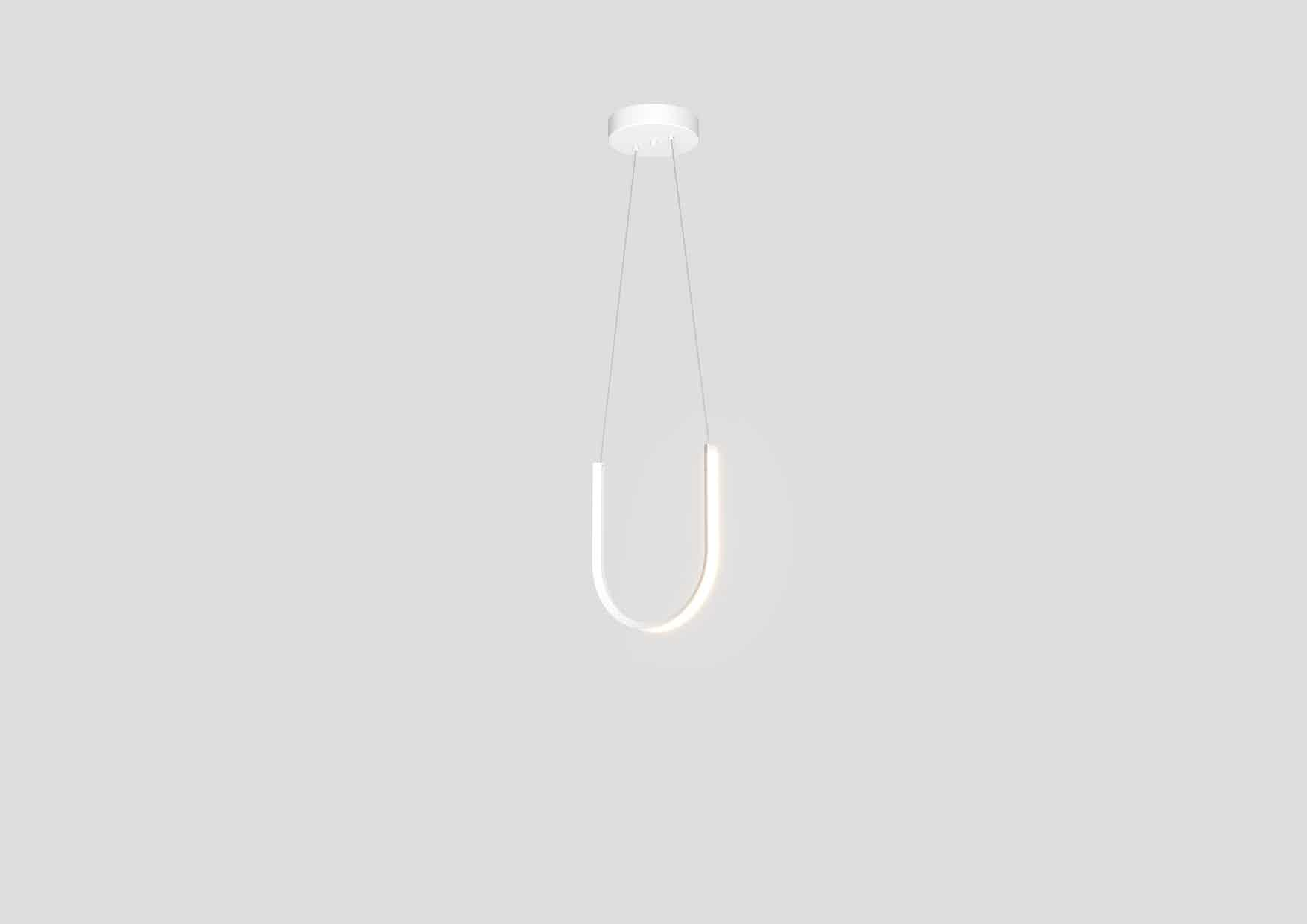 Arpel lighting u1 pendant white hanging haute living