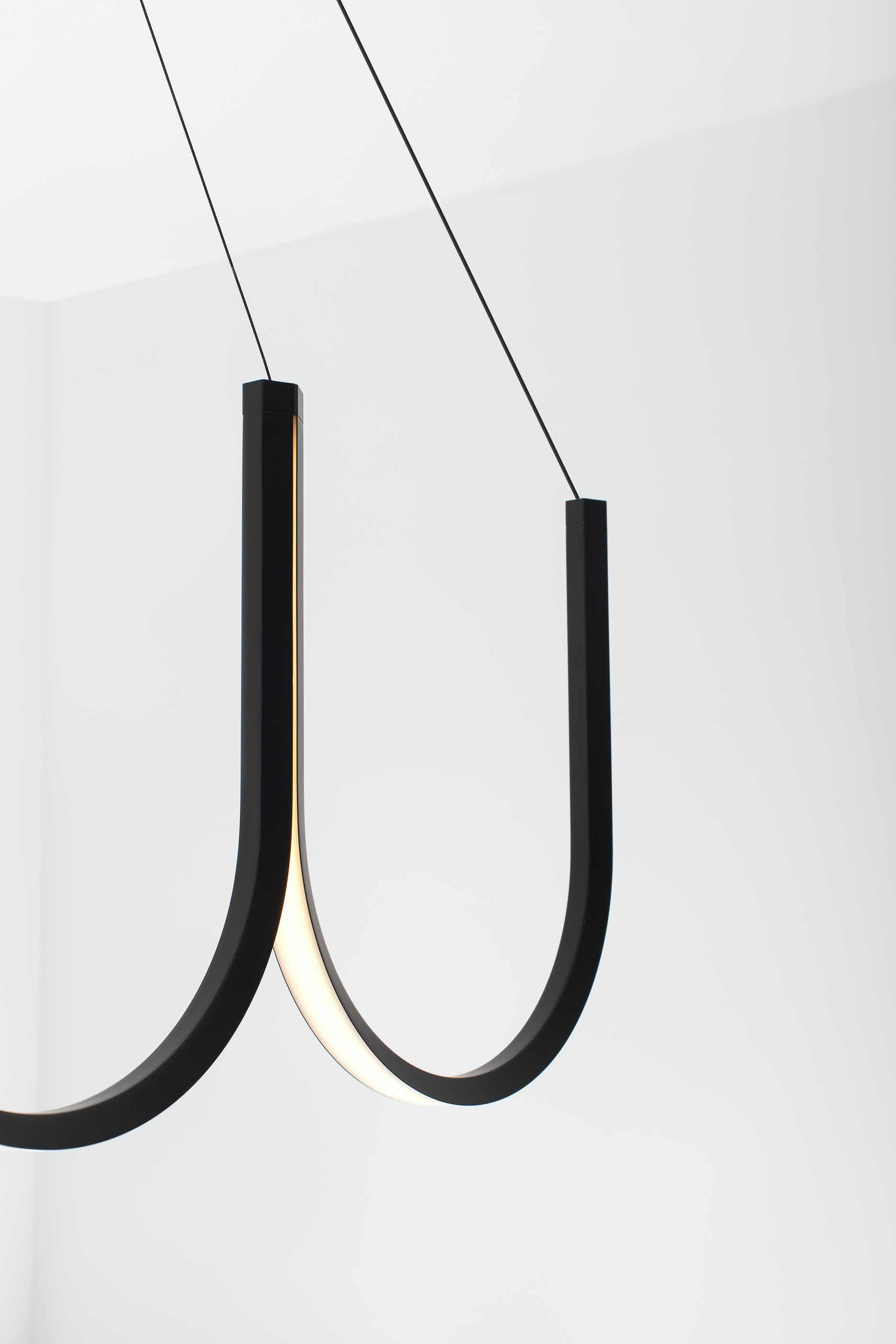 Arpel lighting u5 pendant led detail haute living