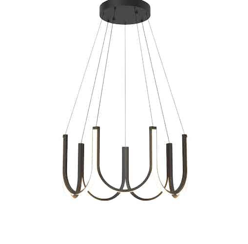 Arpel lighting black u7 pendant haute living thumbnail