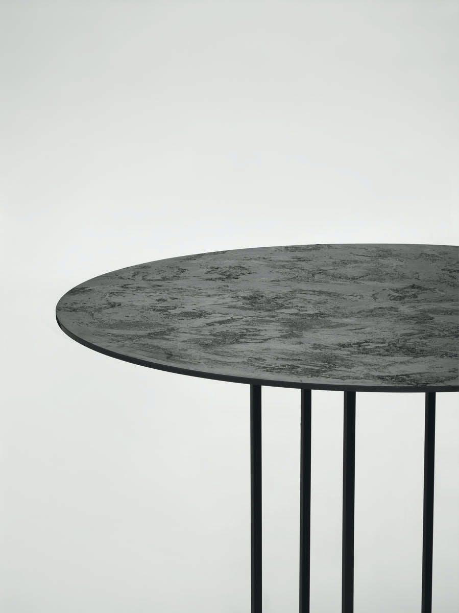 Urushi Tavolo In Ferro Design Italy 2