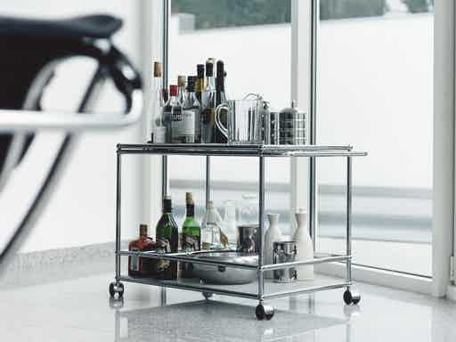 Usm-haller-serving-cart-haute-living