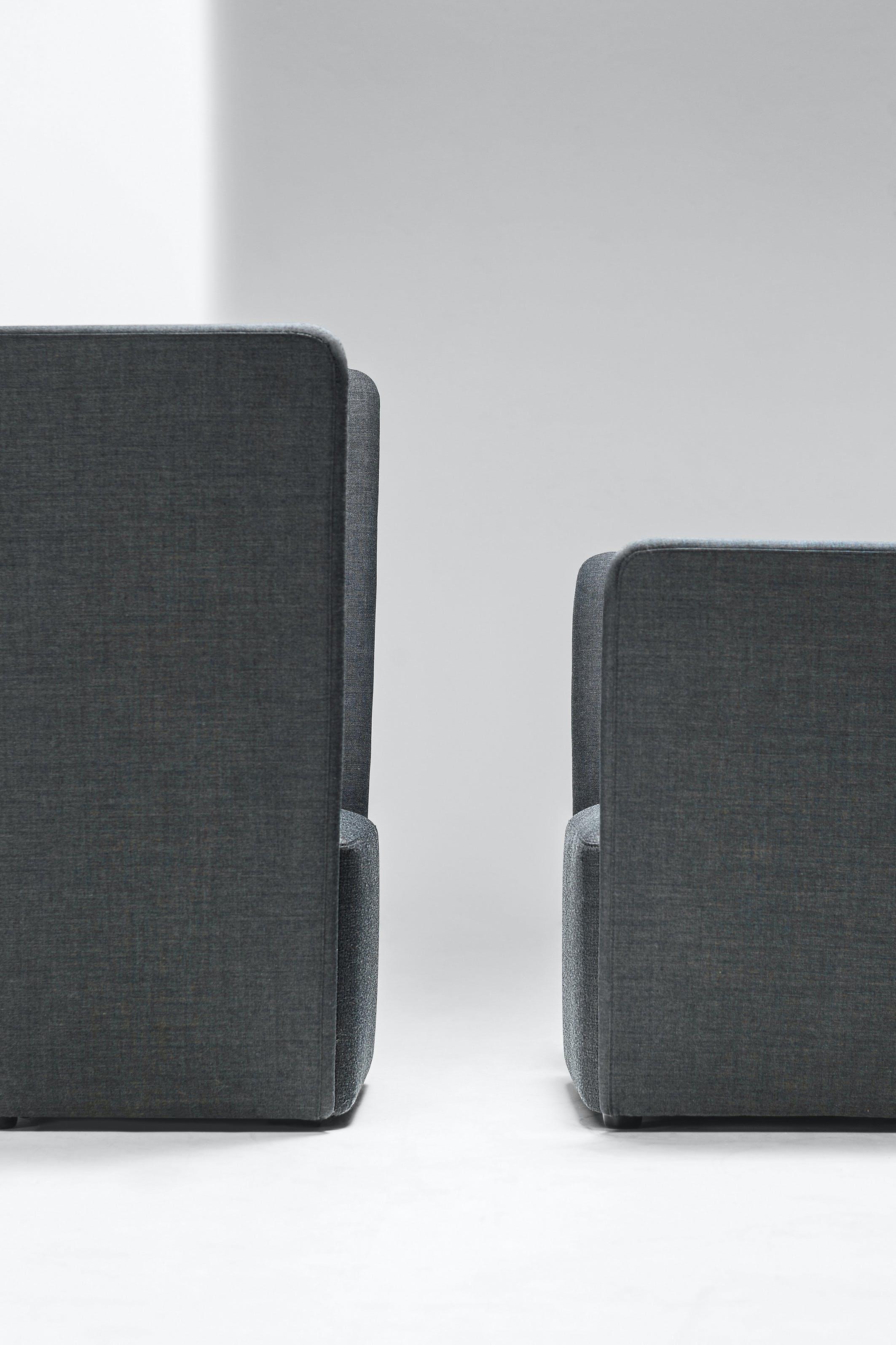 Lacividina-velour-armchair-grey-facing-haute-living