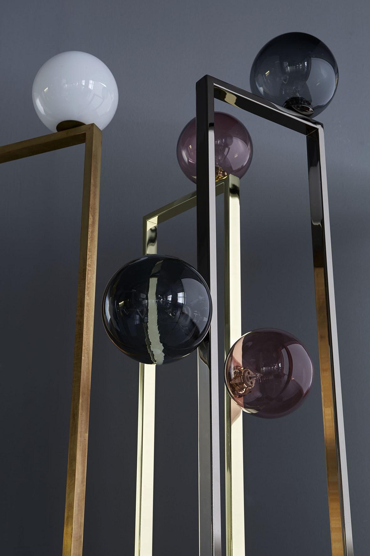Mondrian Glass Floor Lamp 2