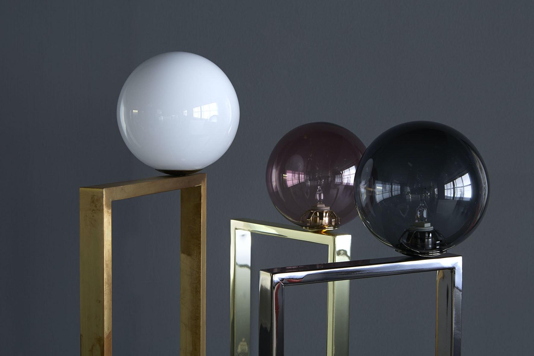 Mondrian Glass Floor Lamp 4