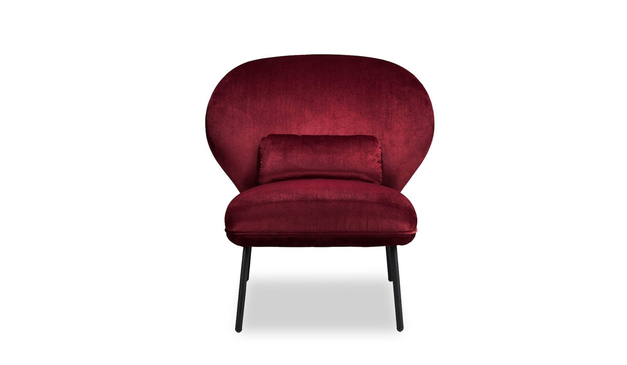 Won Red Ventall Lounge Chair