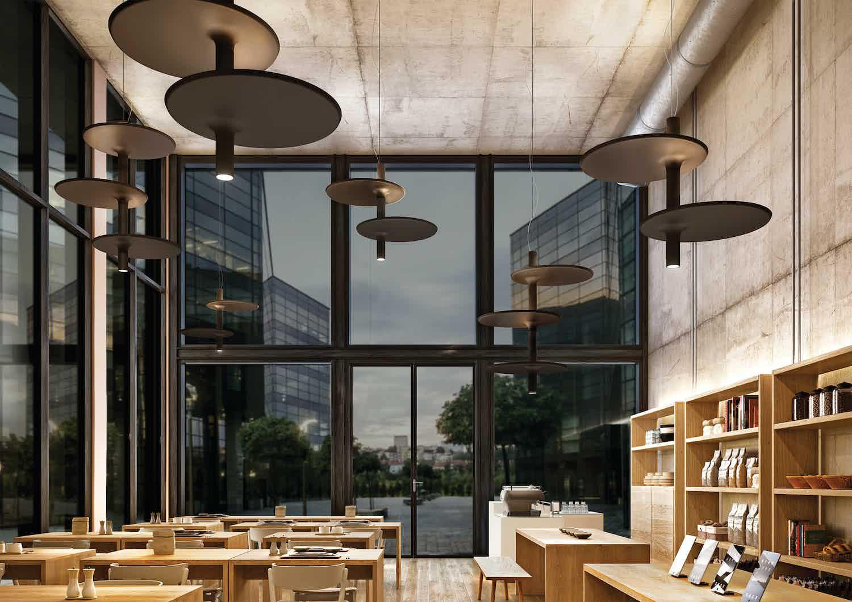 Kundalini lighting victoria suspension lamp isnitu haute living