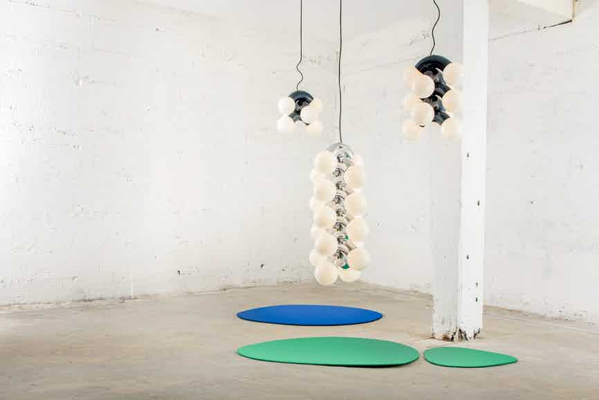 andlight vine 9 hanging pendant chandelier insitu haute living