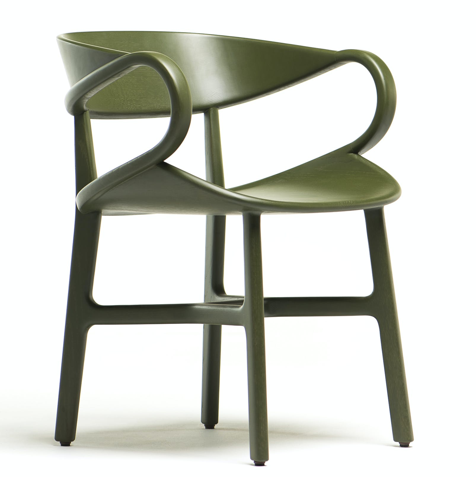 De La Espada Nichetto Vivien Dining Chair Green Thumbnail Haute Living