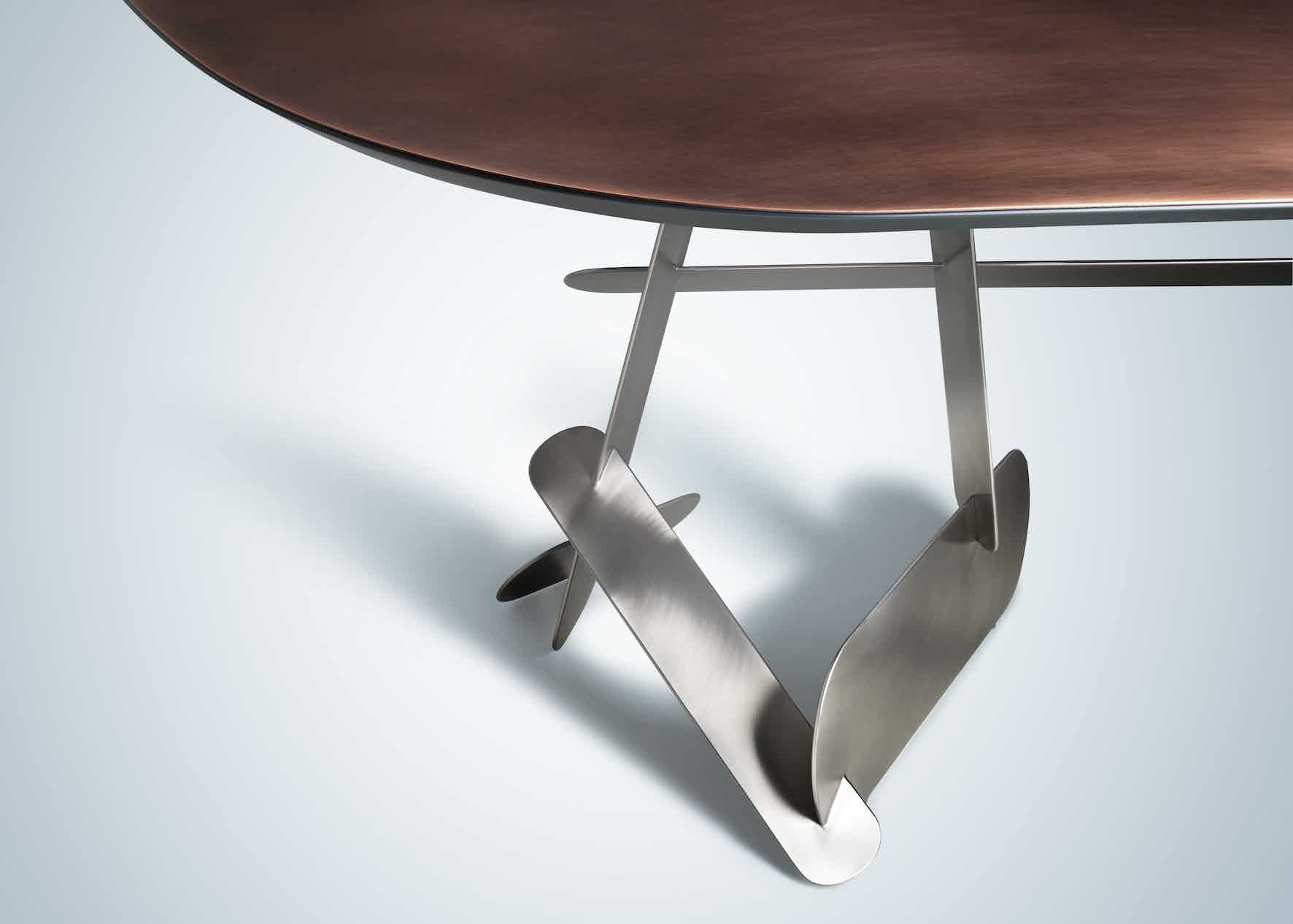 De Castelli Vomere Table Detail Haute Living