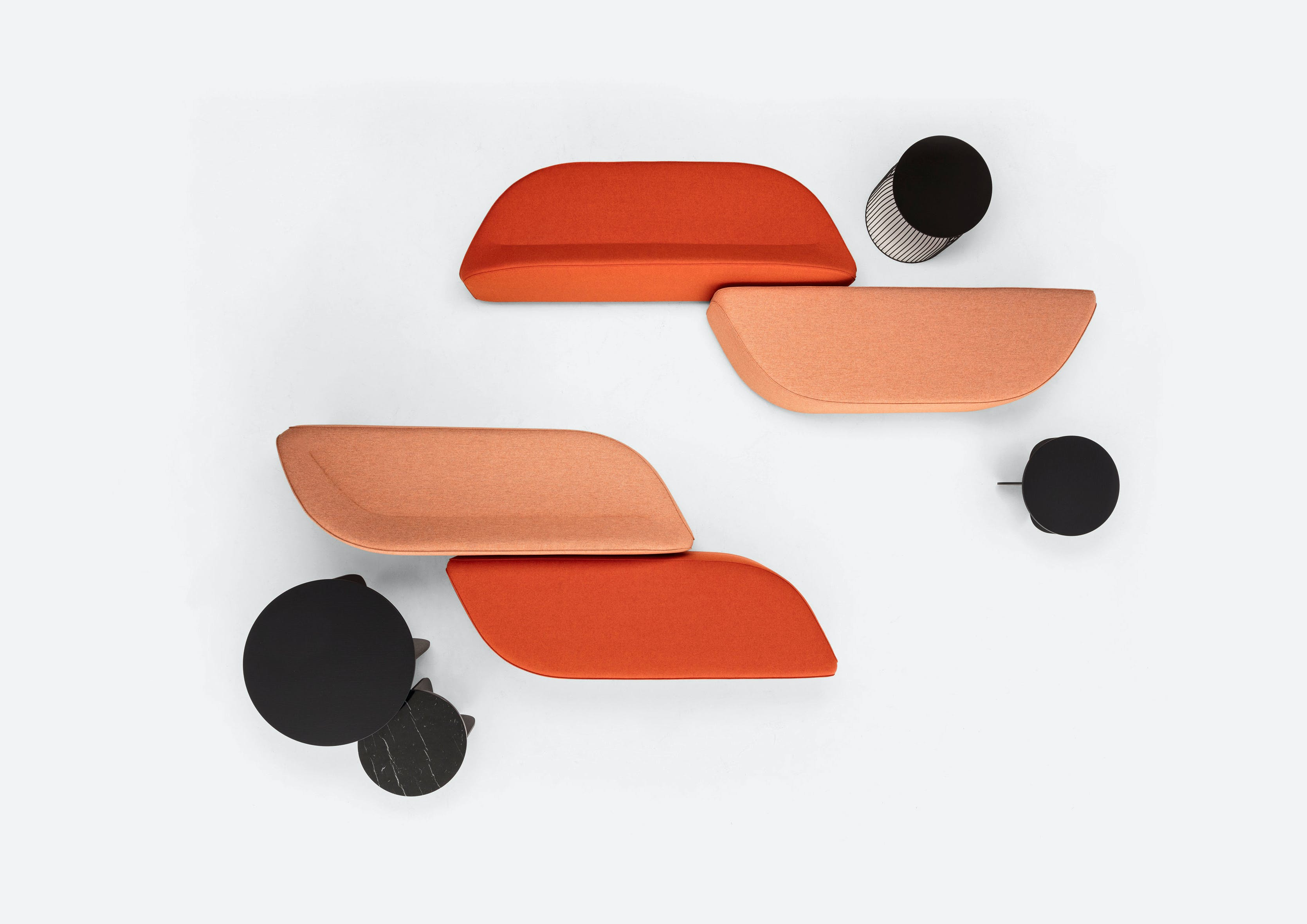 Lacividina-waves-bench-oranges-2-haute-living