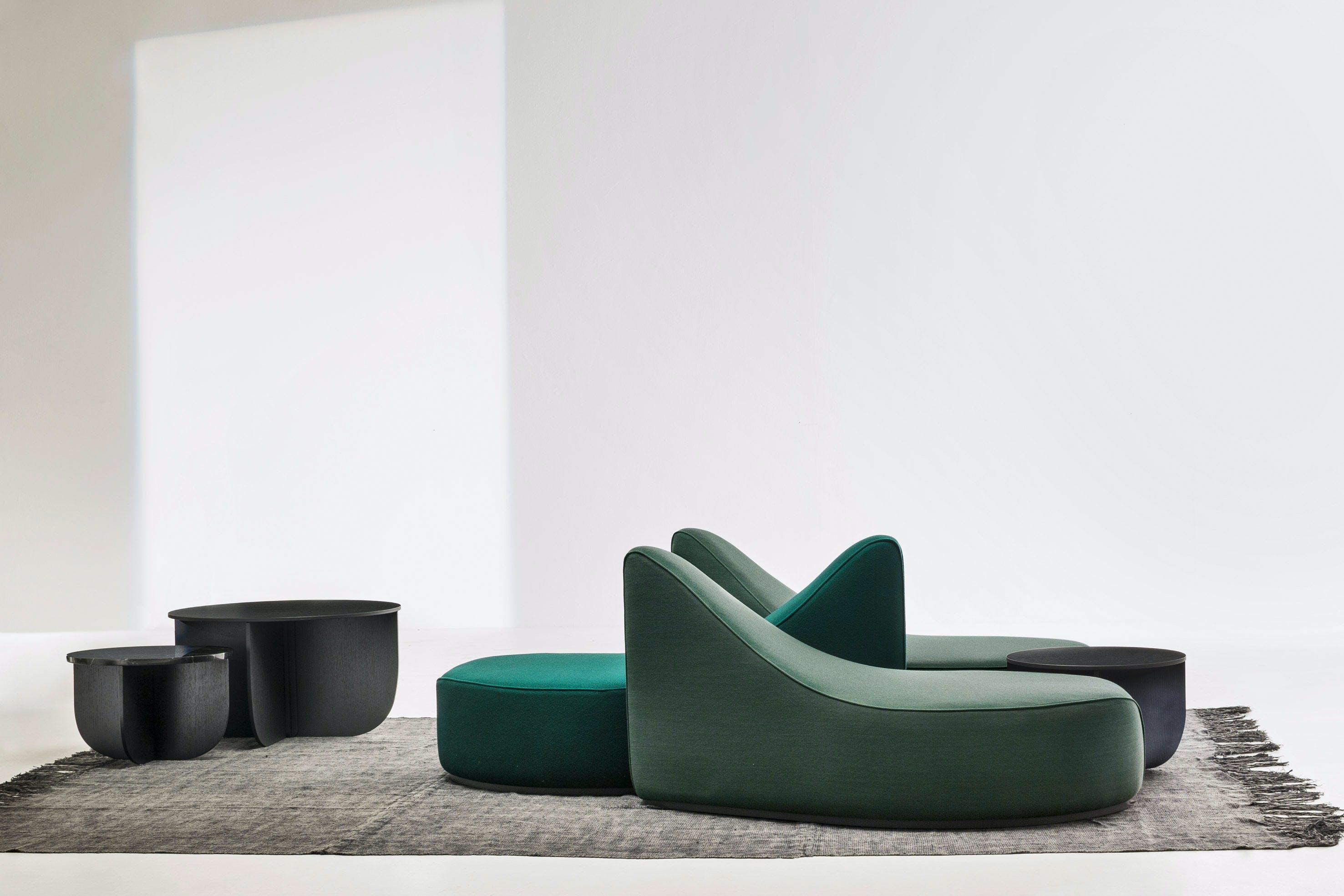 La Cividina Green Waves Modular Sofa Haute Living