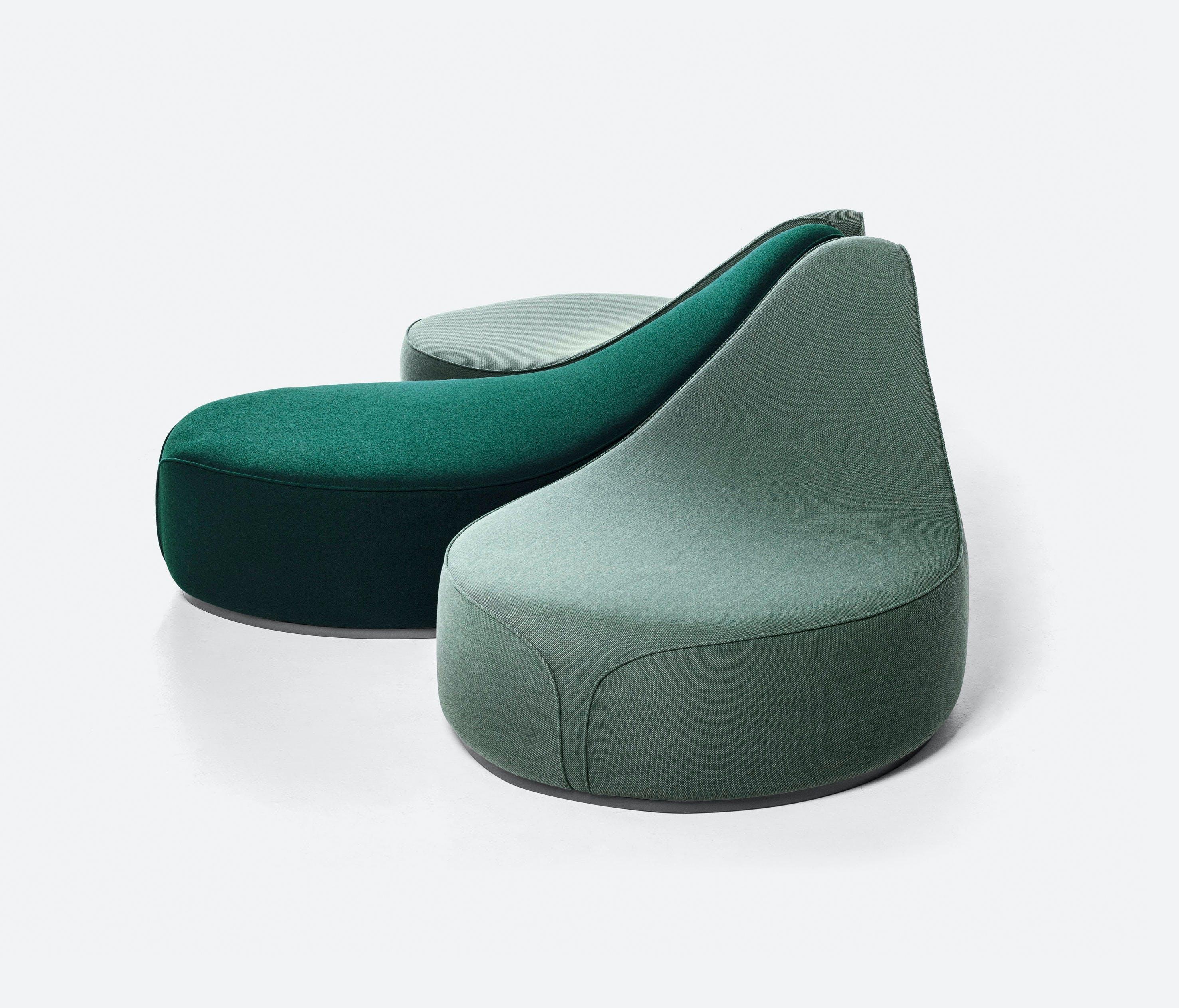 La Cividina Waves Green Modular Sofa Haute Living
