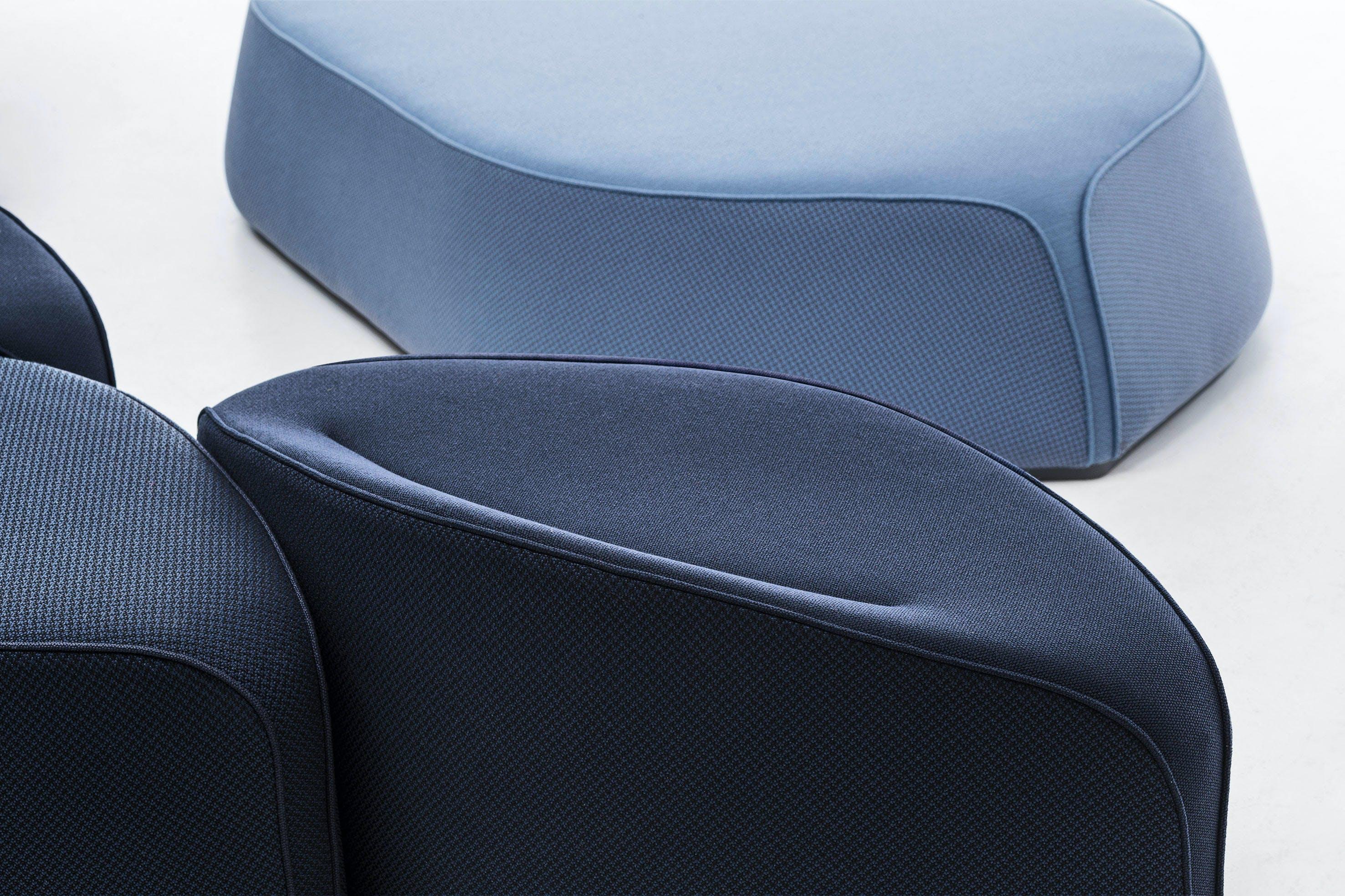 La Cividina Waves Sofa Arrangement Detail Haute Living