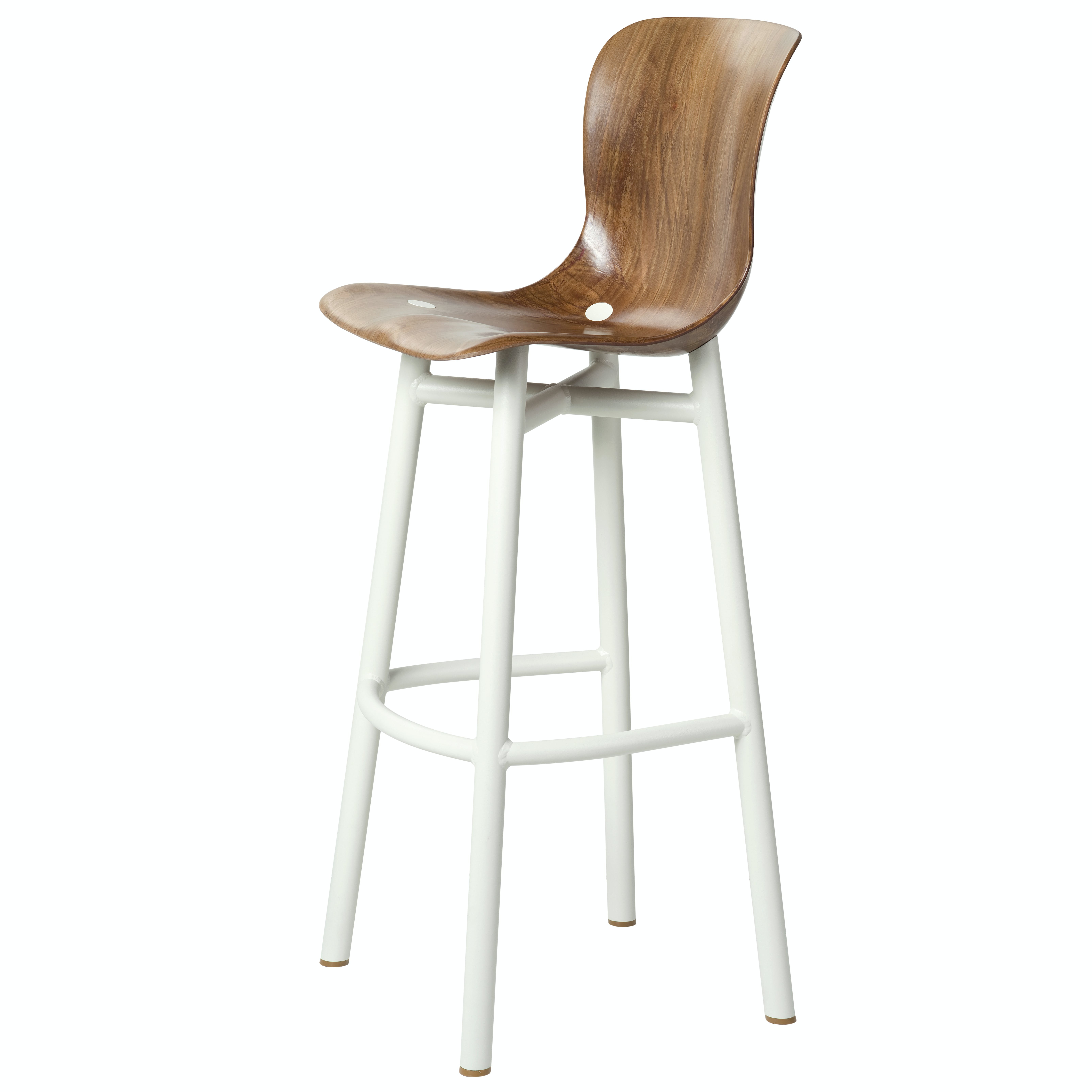 Functionals Natural White Wendela Barstool Haute Living Thumb