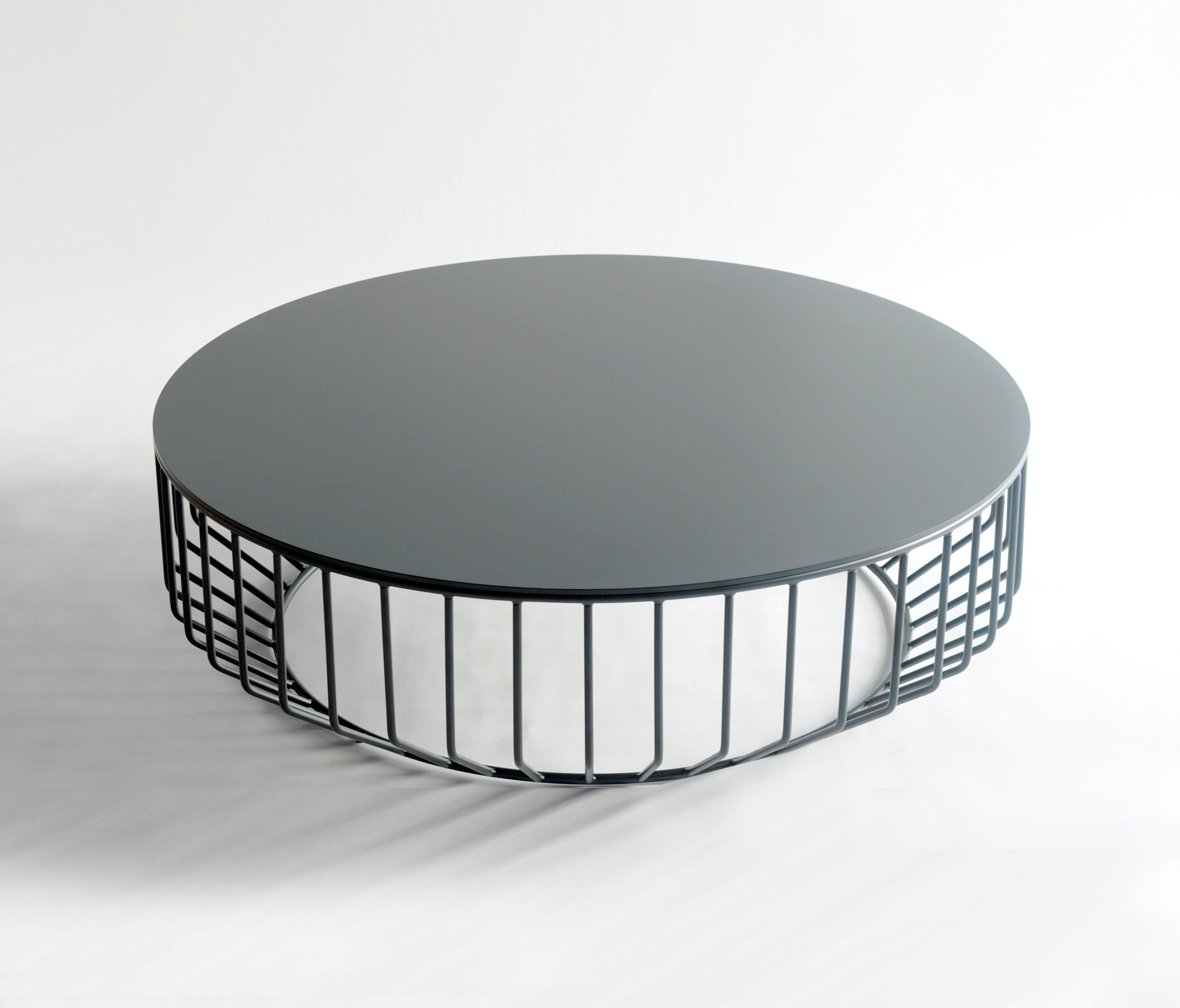 Phase Design Smooth Black Wired Coffee Table Haute Living