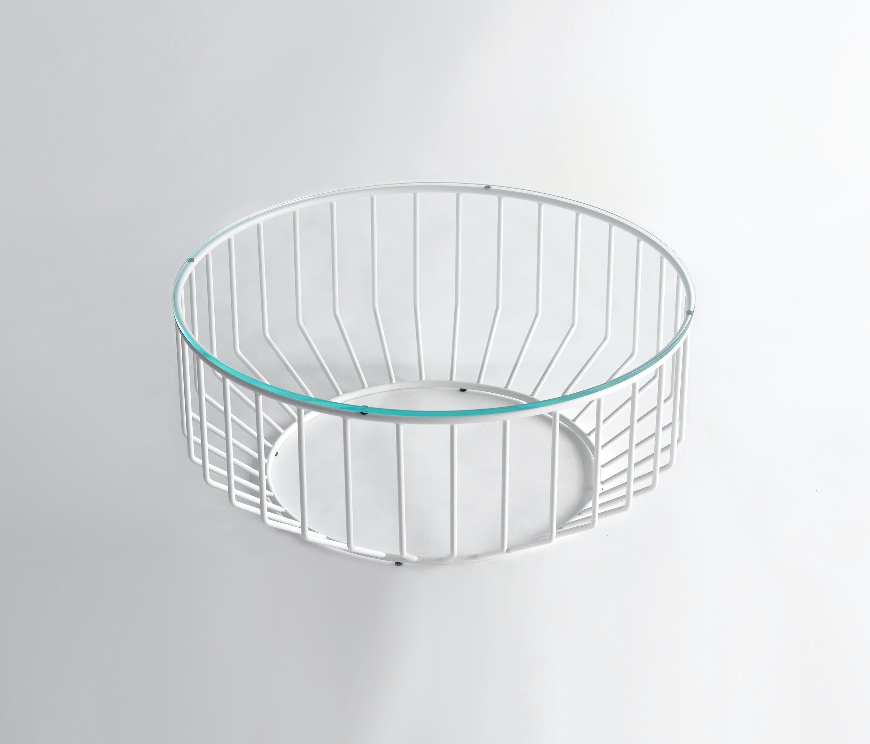 Phase Design White Wired Coffee Table Haute Living