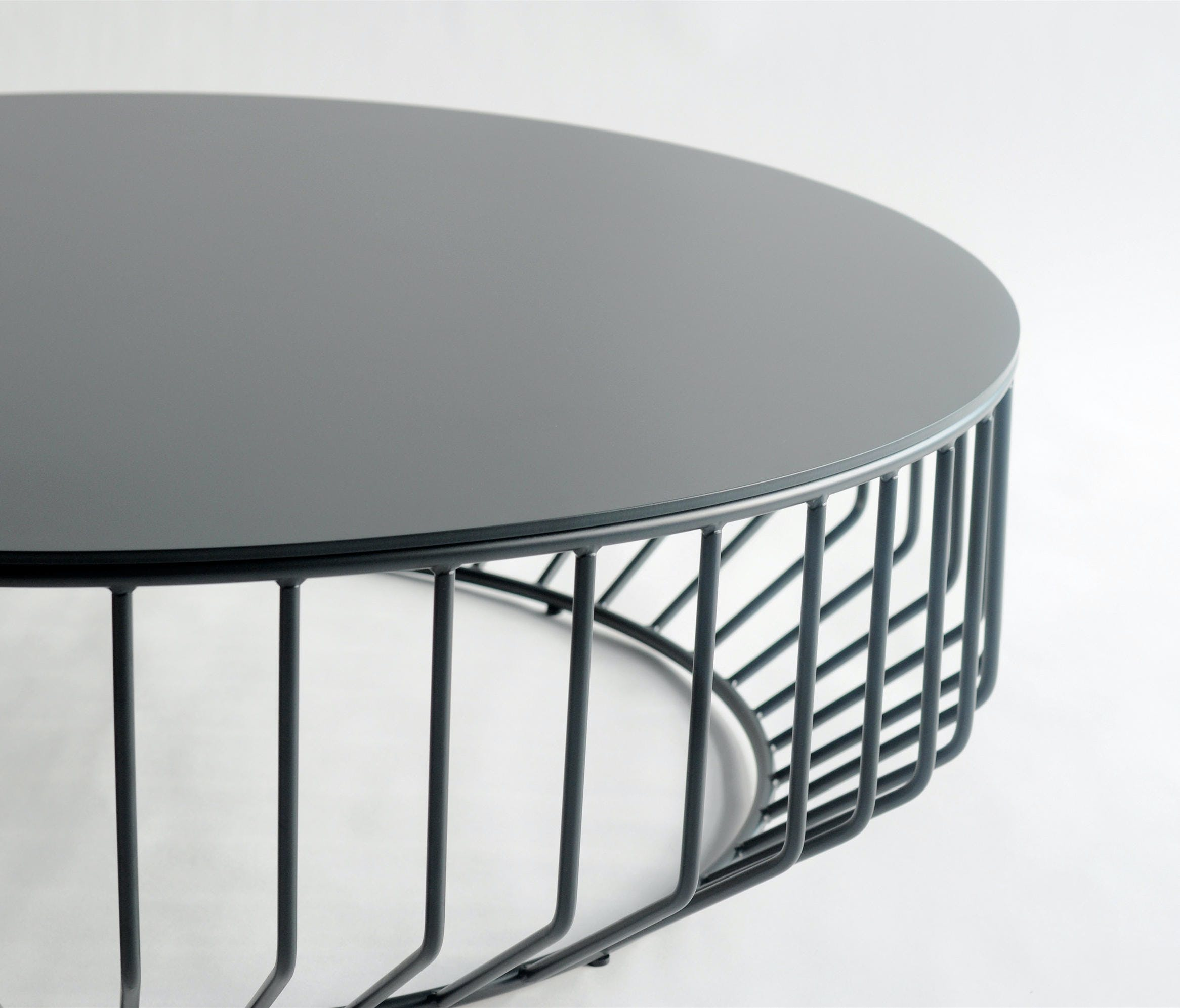Phase Design Wired Coffee Table Black Detail Haute Living