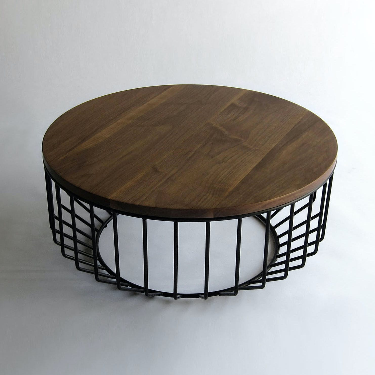 Phase Design Wired Coffee Table Brown Haute Living
