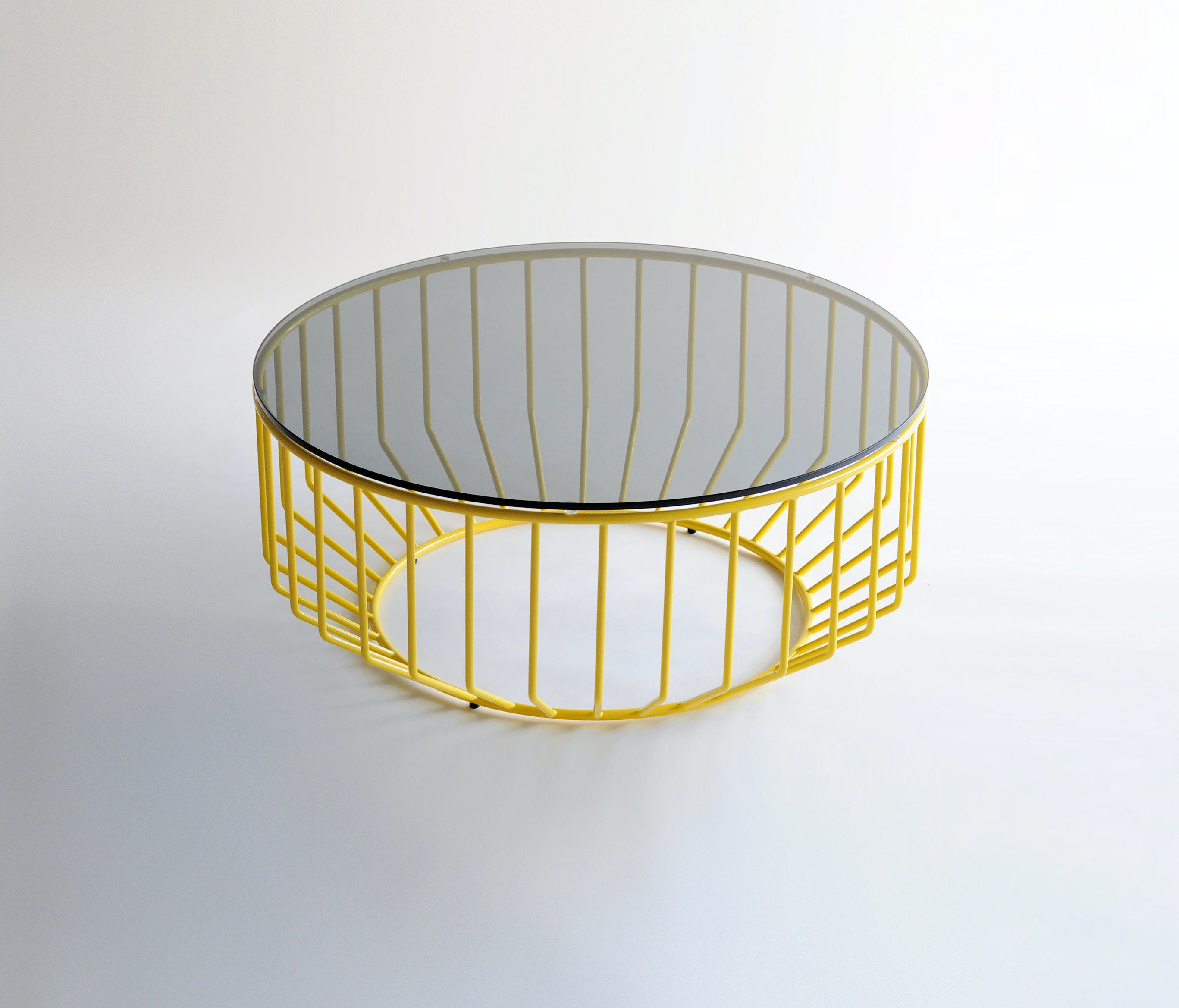 Phase Design Yellow Base Wired Coffee Table Haute Living
