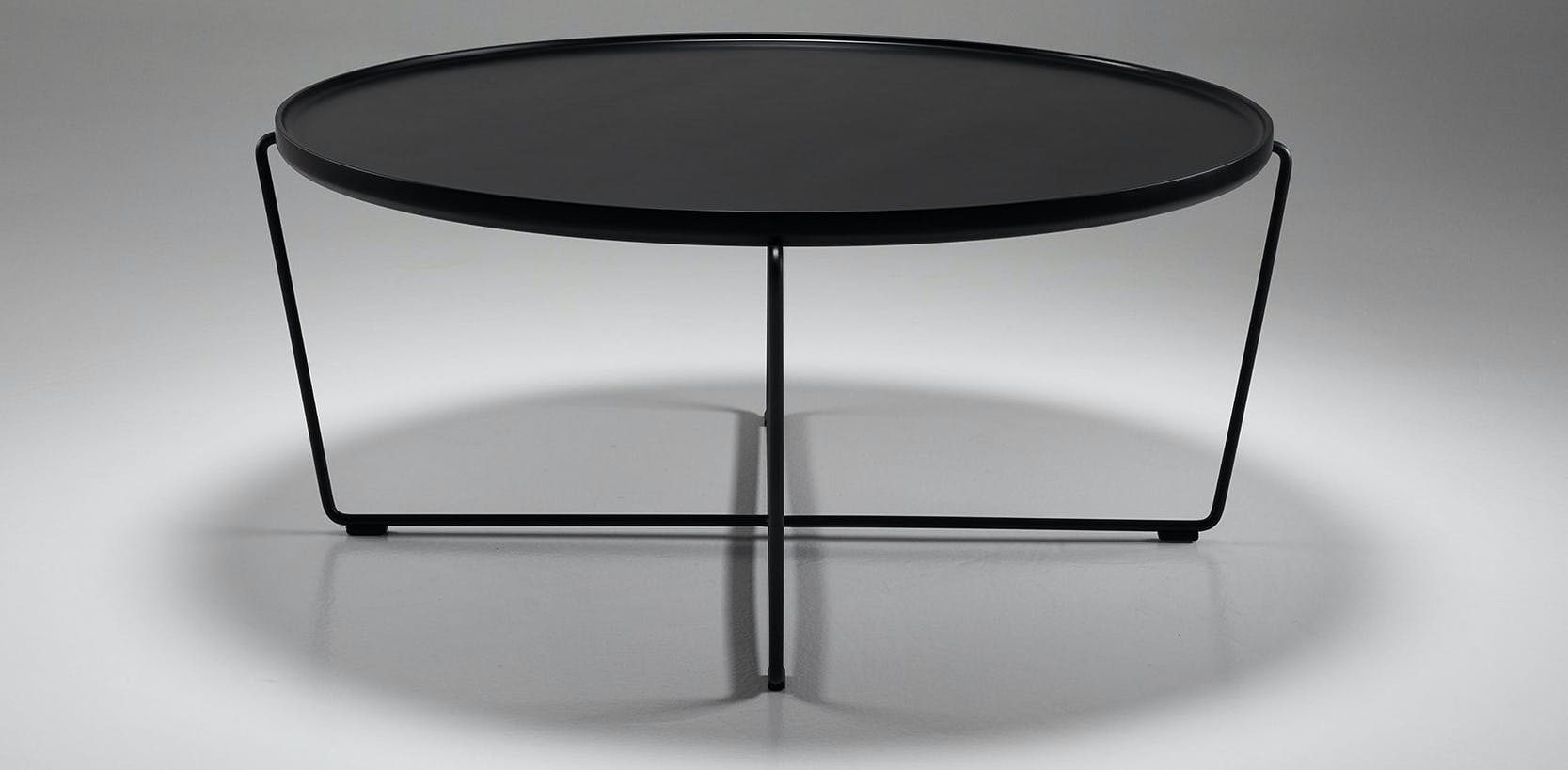 Won Cage Coffee Table Black Front