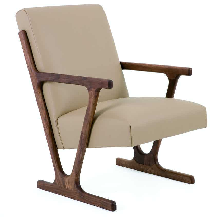 De La Espada Autoban Woody Lounge Chair Haute Living