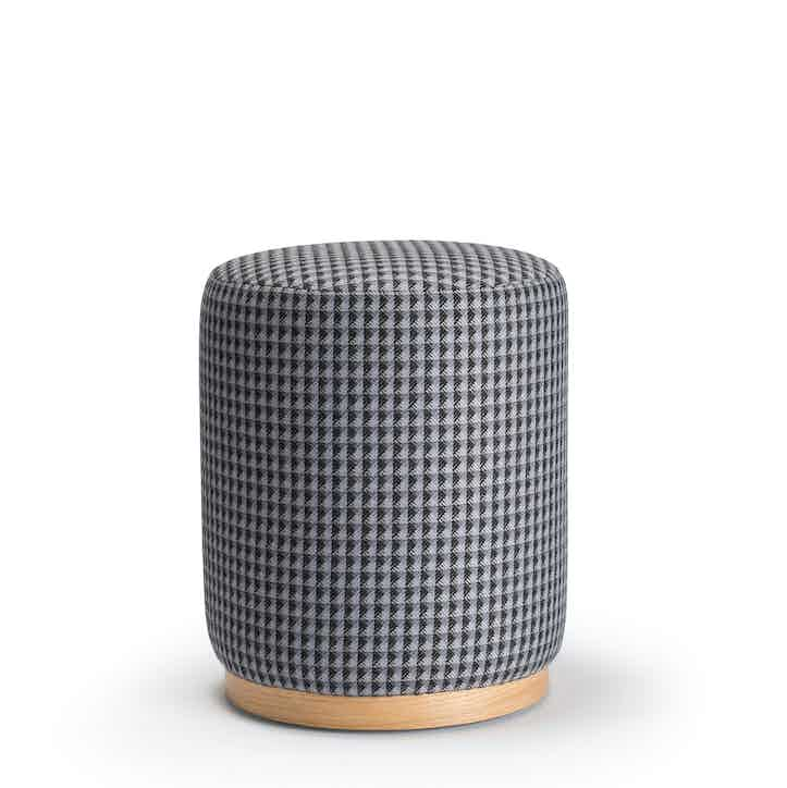 Deadgood-woody-stool-houndstooth-haute-living