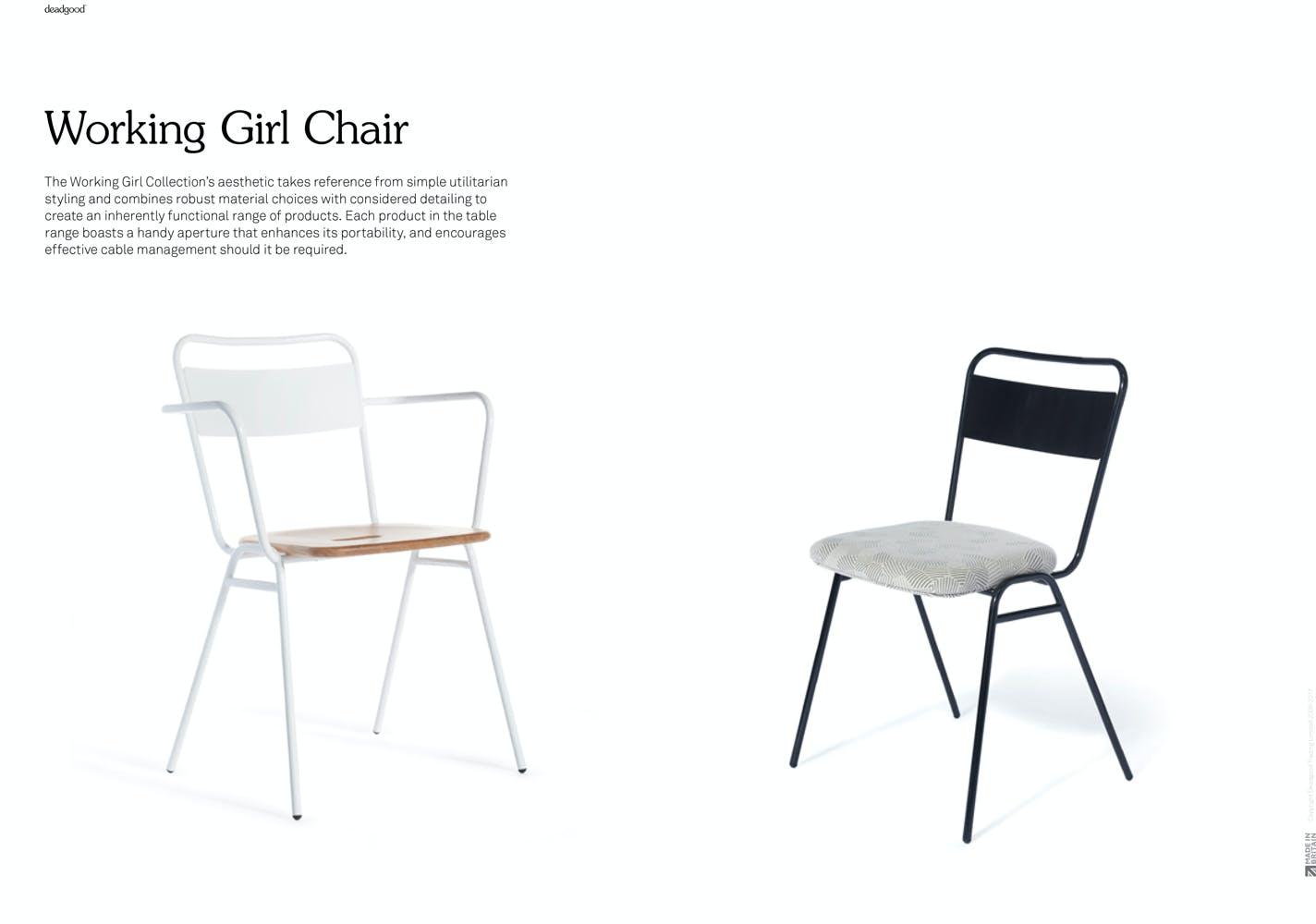 Deadgood Working Girl Chair