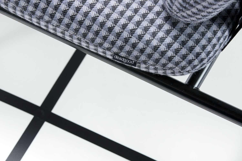 Deadgood-working-girl-lounge-chair-checkered-detail-haute-living