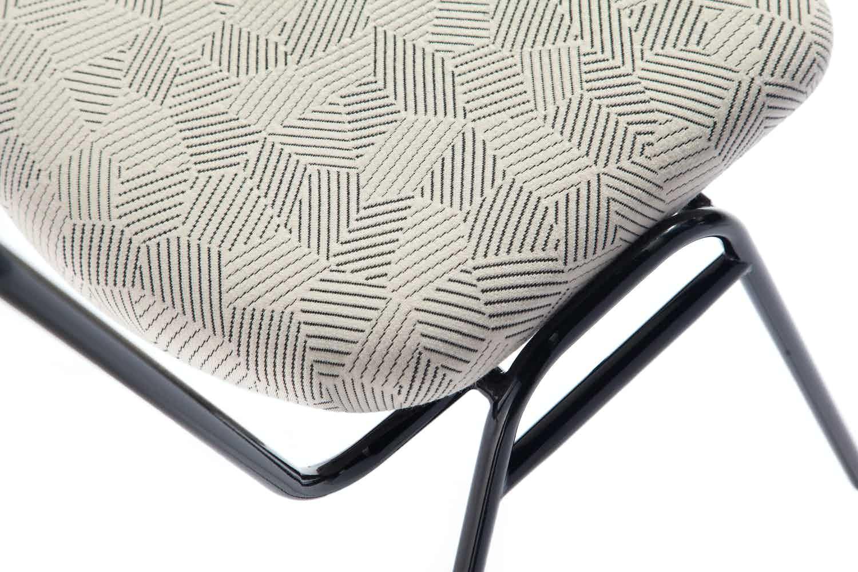 Deadgood-working-girl-soft-chair-black-pattern-haute-living