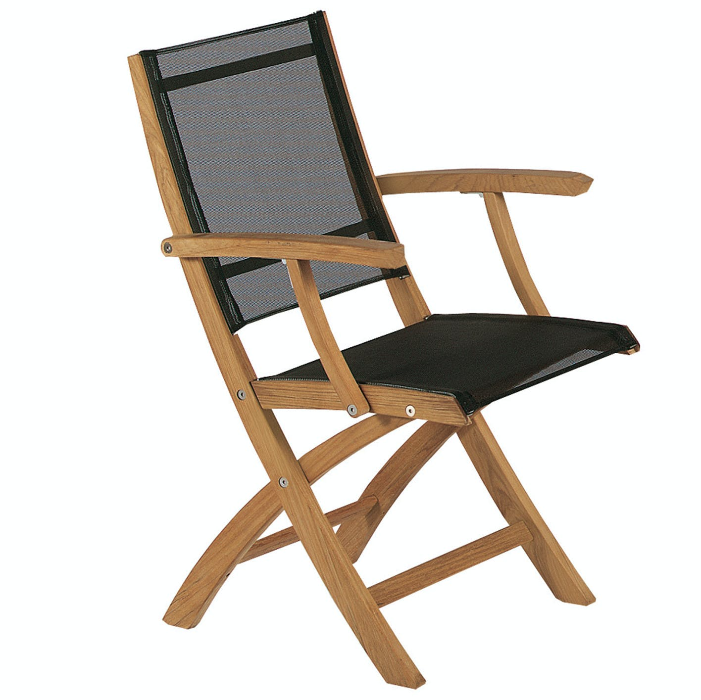 Royal Botania Xqi Folding Chair Black Haute Living