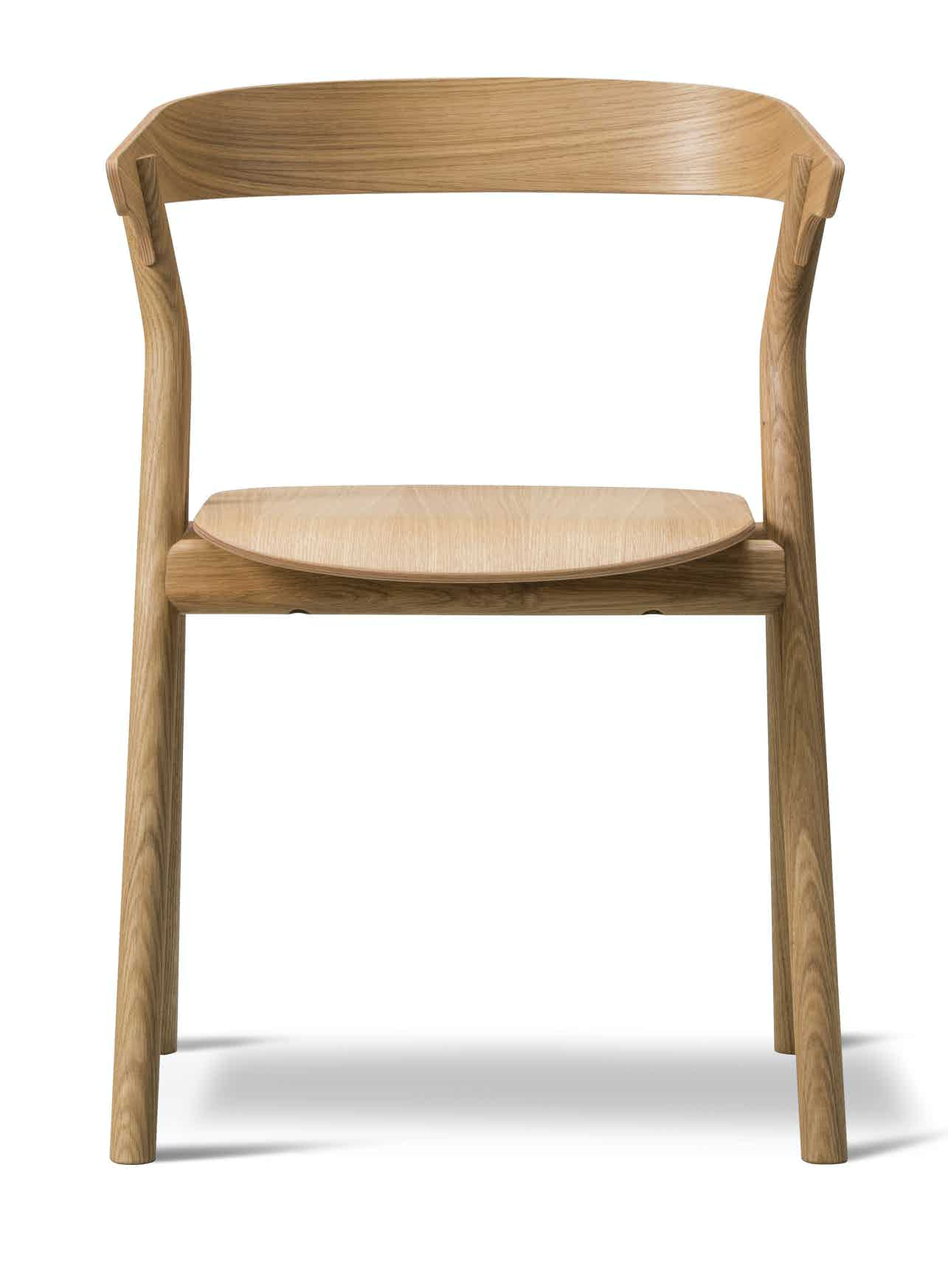 Fredericia Furniture Yksi Chair Front Haute Living