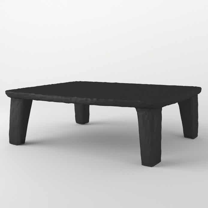Faina design ztista square coffee table large haute living